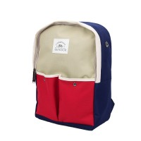 Tas Punggung / Two Tone Canvas Backpack / Tas Ransel