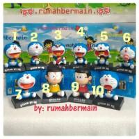 Jual Hiasan Aksesoris Pajangan Mobil (Doraemon ~ Nobita) Boneka Goyang Per Murah