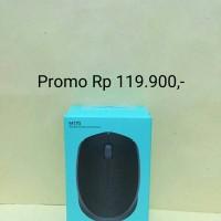 Jual Mouse Wireless Logitech M165 NEW ORIGINAL 100% / Mouse Wireless Murah Murah