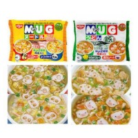 Nissin Mug Cup Noodle Mie Instan No MSG isi 4 Cups