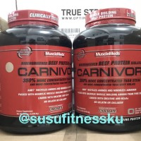 Musclemeds Carnivor 4lbs 4,6 lb Beef Whey Protein Whey