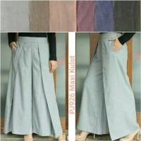 Celana kulot panjang bahan model maxi pants cewe wanita murmer