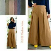 Celana kulot panjang model thalina pants cewe wanita murmer All size