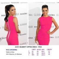 ASOS CELEBRITY ZIPPED DRESS - PINK - FASHIONme FACTORY OUTLET BRANDED