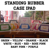 Standing Rubber Case iPad