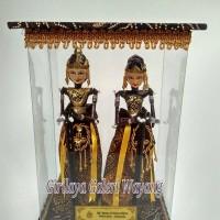 harga Wayang Golek Rama dan Shinta miniatur (box mika) Tokopedia.com