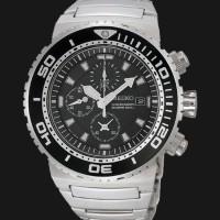 Seiko Chronograph SNDA13P1 Divers 200M Stainless Steel Bracele| SNDA13