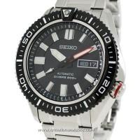Seiko Automatic SKZ325k1 Diver 200M Black Dial   Jam Pria SKZ325