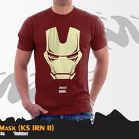 Kaos Iron Man Superhero Mask Tees (KS IRN 11)