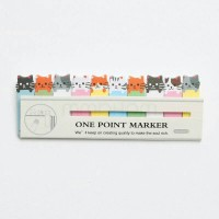 Jual DIY Cute Korean Post It Label Sticker Note / Kertas Memo Cute Murah