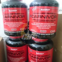Musclemeds Carnivor Whey Beef Protein Isolate 4.6lbs