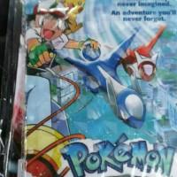 casing tablet universal karakter 3d hologram pokemon