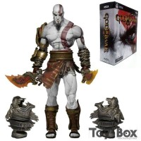 MAINAN ACTION FIGURE GOD OF WAR KRATOS FULL ARTIKULASI NECA