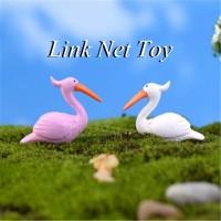 Jual Miniature Flamingo Dekorasi Terrarium / Mini Fairy Garden Murah