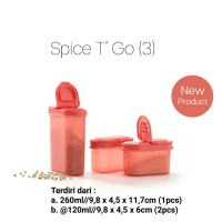 Tupperware Spice T Go Tempat Bumbu Garam Gula Lada