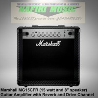 amplifier gitar marshall MG15CFR / MG-15CFR / MG 15 CFR / MG15-CFR