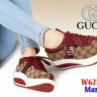 sepatu Sneaker Sport Fashion Gucci 6212#wea