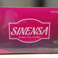 TEH PELANGSING SINENSA - SINENSA GREEN TEA HERBAL