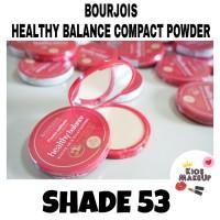 BOURJOIS HEALTHY BALANCE COMPACT POWDER SHADE 53