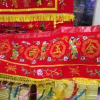 Wang Cai Bordir Halus Gambar 8 dewa