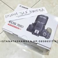 Kamera Canon EOS 700D Lensa Kit 18-55mm IS STM Garansi Resmi Datascrip