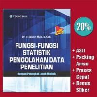 Fungsi-fungsi Statistik Pengolahan Data Penelitian, den Limited