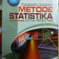 Dasar-Dasar Metode Statistika - Maman Abdurahman, dkk Limited