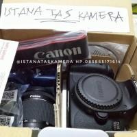 NEW KAMERA DSLR CANON EOS 700D LENSA KIT 18-55 IS STM GARANSI 1 TAHUN