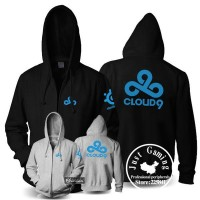 Hoodie Zipper Cloud 9 Dota - Redmerch