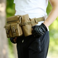 Jual Tas Pinggang Tactical Army Dengan Tempat Botol Murah