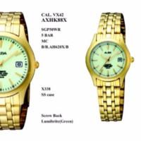 ALBA Standard AXT850 Lumibrite Gold - Small Size Jam Tangan ORIGINAL