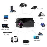 Jual Proyektor UC46 Mini WiFi Portable Full HD LED Projector With Miracast Murah
