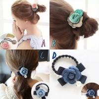 harga ikat rambut korea ikat rambut fashion Tokopedia.com