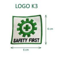 Logo Emblem Bet Bordiran K3 Kotak