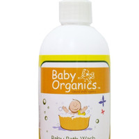 Baby Soap Care Organics Bath Wash 77% 250ml-(BLC-073)