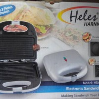 HELES HSM-028-3P Toaster 3in1 (Sandwich, Omelette, Grill)