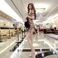 Elegant Brown Chongsam