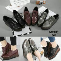 NEW ARRIVAL MIU MIU WEDGES SHOES 661