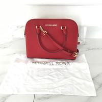 Michael Kors Cindy MEDIUM Saffiano Leather Satchel