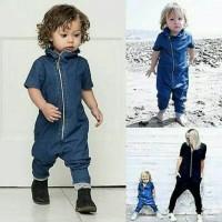 Baju anak bayi murah | jumper jeans | denim panjang