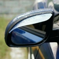 Mika pelindung kaca spion - type R/ car rear mirror rain guard