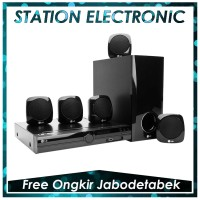 LG Home Theater System 5.1 DH3140S - Hitam