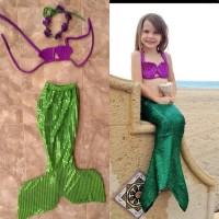 Jual baju mermaid/baju duyung anak 4-6 th Murah