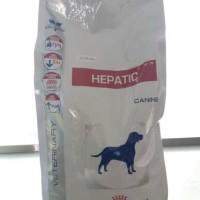 Makanan anjing khusus hati ( hepatic ) royal canin