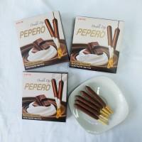 Jual Pepero Double Dip Chocolate [Coklat] - Semarang Murah