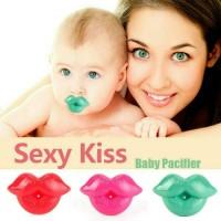 Empeng Bayi Sexy Lips / Baby Pacifier / Dot Bayi / Baby Teether