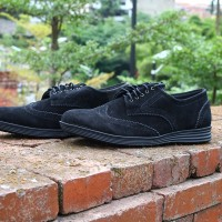 SEPATU CASUAL FORMAL   JACK FOOTWARE   ELDER BLACK   100% BARU