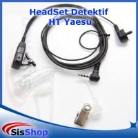 harga Headset Detektif/ Paspampres HT Yaesu Tokopedia.com