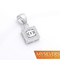 harga Liontin Chanel Vizerre Silver 925 - Berlapis Emas Putih Tokopedia.com