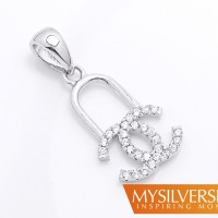harga Liontin Chanel Estrada Silver 925 - Berlapis Emas Putih Tokopedia.com